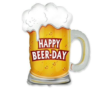Balon foliowy 24 cale FX - Kufel: Happy Beer-Day