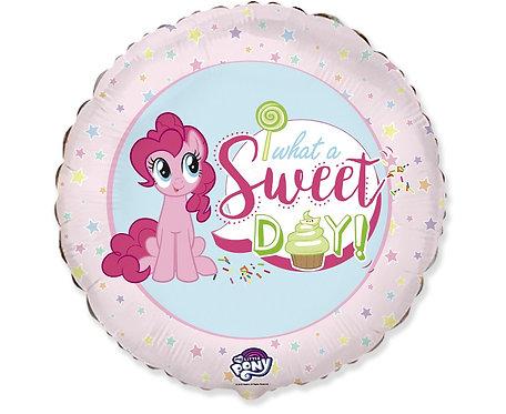 Balon foliowy 18 cali FX - My little Pony Sweet day