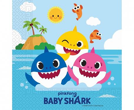 "Serwetki ""Baby Shark"" 33x33 cm, 20 szt."