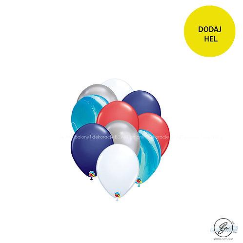 Bukiet balonowy Marynarz 10 szt