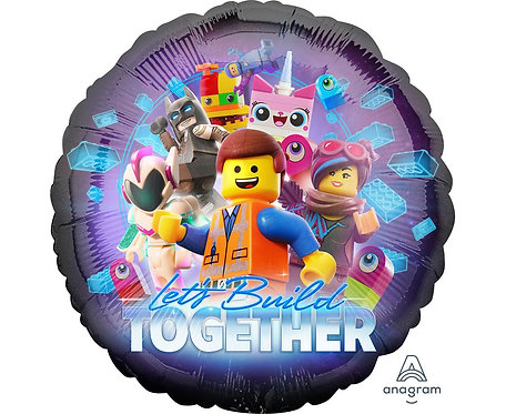 Balon foliowy 18 cali CIR - Lego Movie 2