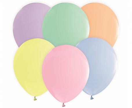 "Balony Beauty&Charm, makaronowe mix 12""/ 10 szt."