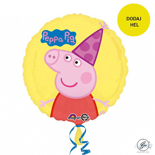 "Balon foliowy 18"" CIR - ""Peppa Pig"""