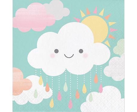 "Serwetki ""Sunshine Baby Showers Luncheon"", 16 szt., 33 x 33 cm"