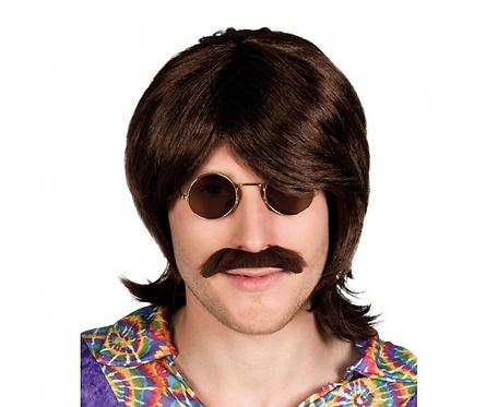 Peruka Gary z wąsami