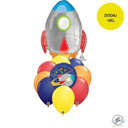 Bukiet balonowy Mały Astronauta 10 szt