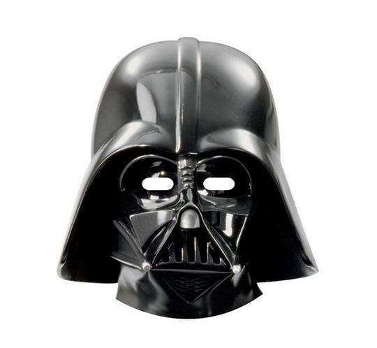 Maska papierowa Star Wars & Heroes, 6 szt