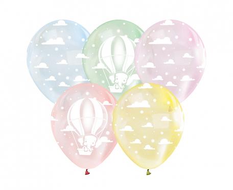 """Balony Lot Balonem, 12""""/ 5 szt."""