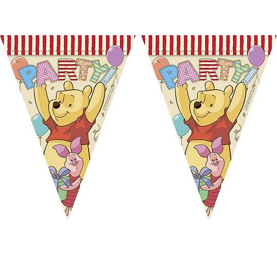 """Banner """"Winnie Alphabet"""", flagi"""