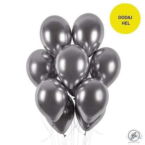 Balon shiny - grafitowy