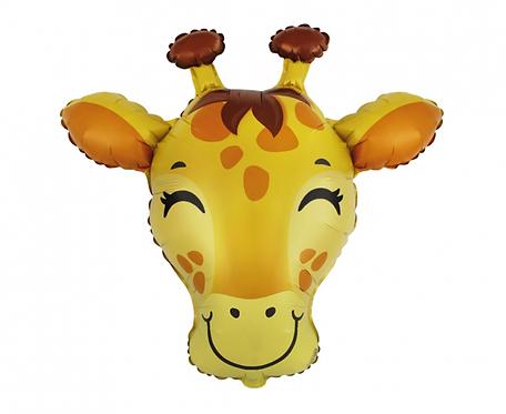 Balon foliowy 24 cale FX - Żyrafa, pakowany