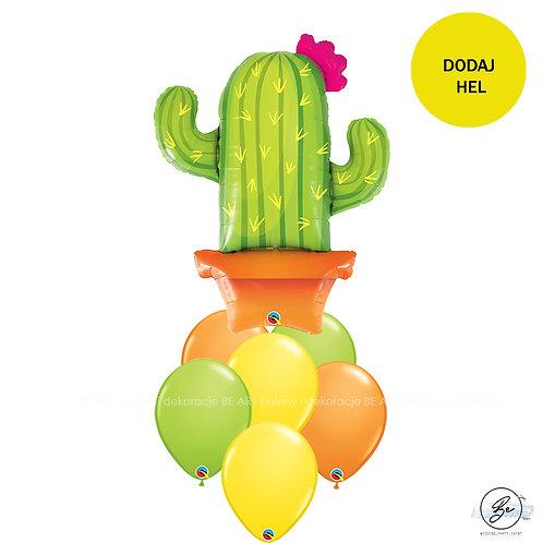 Bukiet balonowy Kaktusowe Party 7 szt