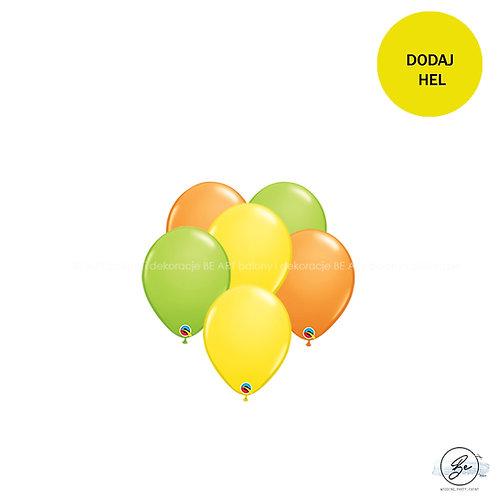 Bukiet balonowy Tropical Party 6 szt