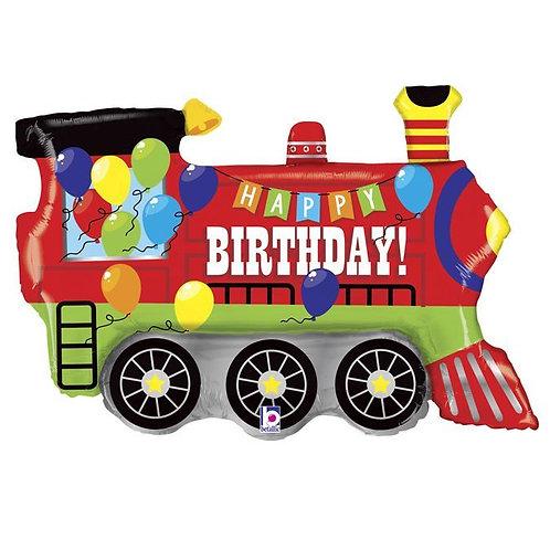 Balon Birthday Party Train