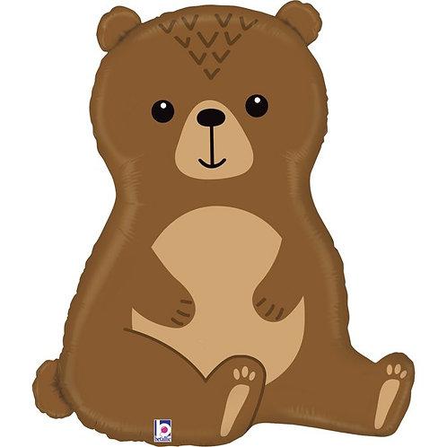 """Balon Woodland Bear 34"""""""