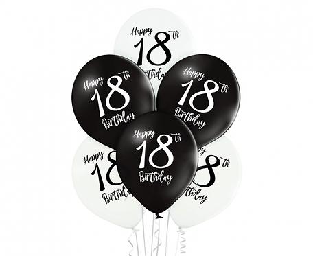 Bukiet Birthday 18, 6 szt.