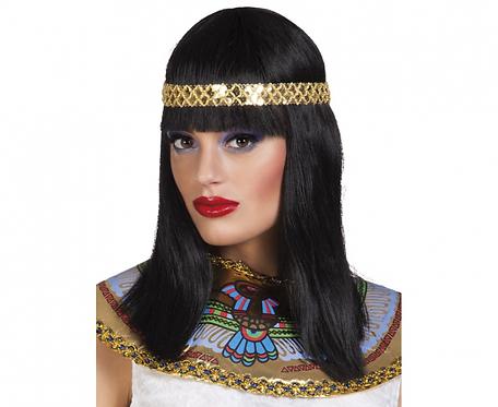 Peruka Cleopatra z opaską