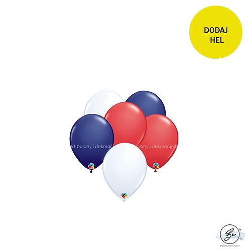 Bukiet balonowy Mały marynarz 6 szt