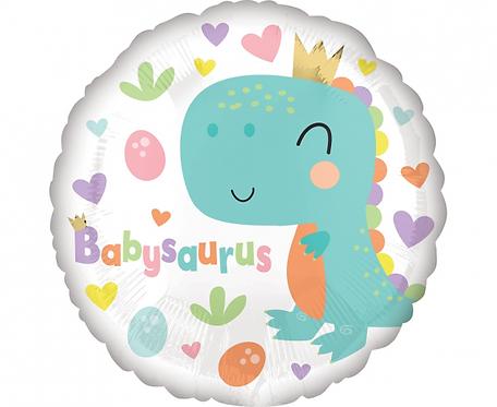 Balon foliowy 18 cali Babysaurus