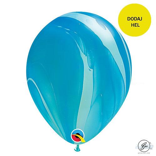 """Balon QL 11"""", pastel agat niebieski"""