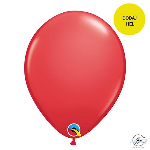 """Balon QL 11"""", pastel czerwony"""