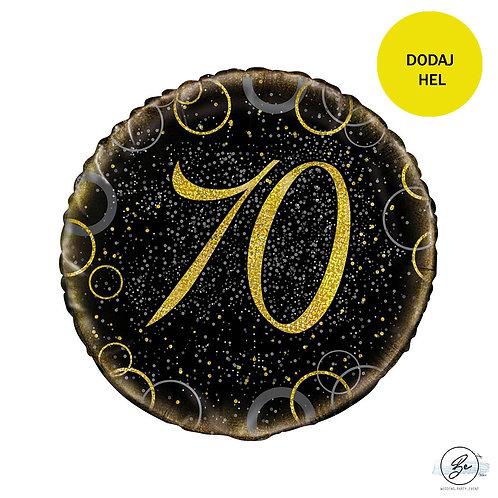 Balon foliowy UQ 18 cali Prism z nadr. 70, złoty