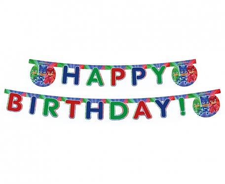 """Banner urodzinowy """"PJ Masks"""""""