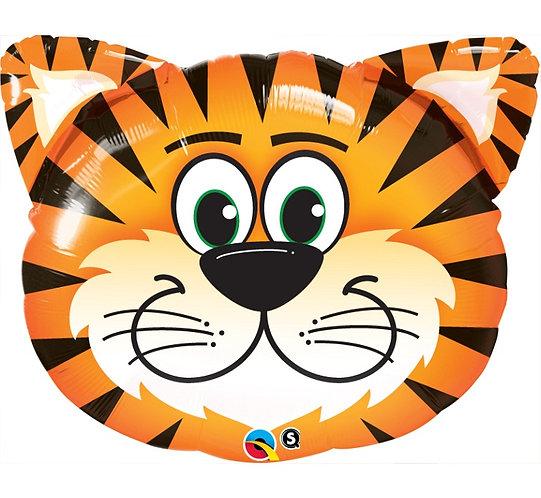 balon foliowy tygrysek, balony z helem wrocław, sklep z balonami
