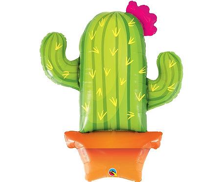 Balon foliowy 39 cali QL SHP Potted Cactus