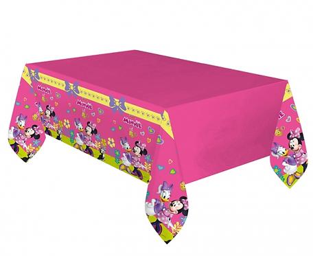 """Obrus plastikowy """"Minnie Happy Helpers"""" 120x180 cm"""