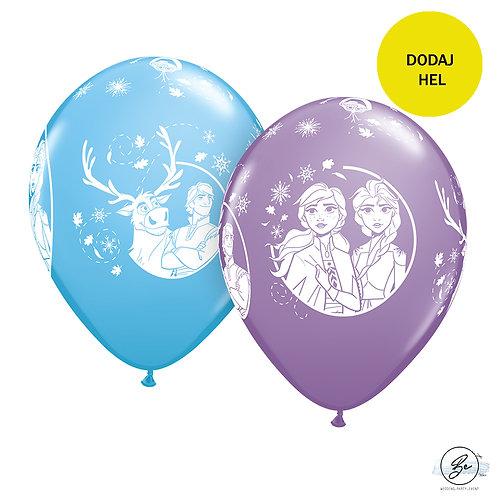 "Balon 11"" cali QL z nadr. DN FROZEN"