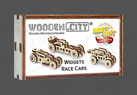RACE CARS WIDGETS
