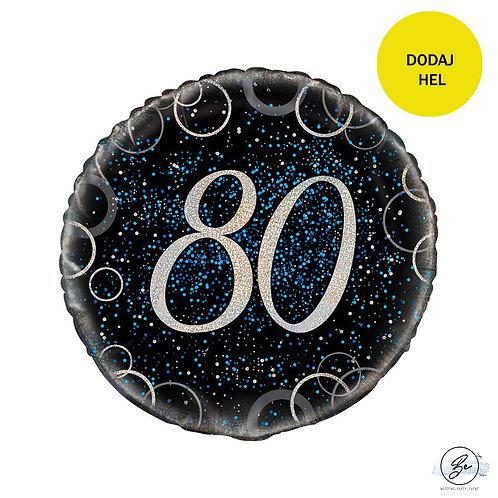 Balon foliowy UQ 18 cali Prism z nadr. 80, niebieski