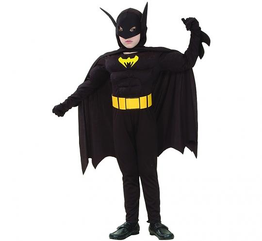 Strój dla dzieci Nietoperz (Batman) , rozm. 120/130 cm