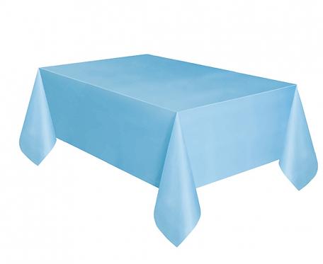 Obrus papierowy jasnoniebieski, 132x183 cm