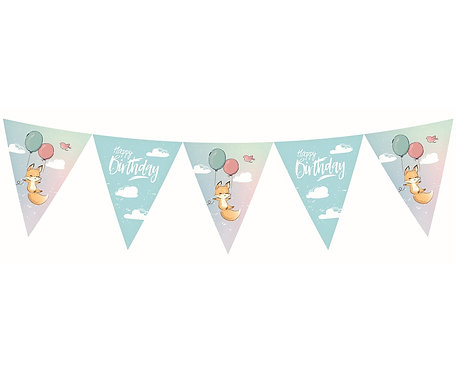 Banner Kolekcja Happy Birthday - Lisek