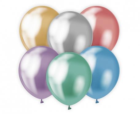 "Balony Beauty&Charm, platynowe mix 12""/ 50 szt."