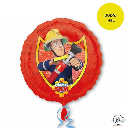 """Balon foliowy 18"""" CIR - """"Fireman Sam"""""""