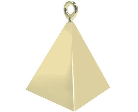 Ciężarek QL Piramida, złoty