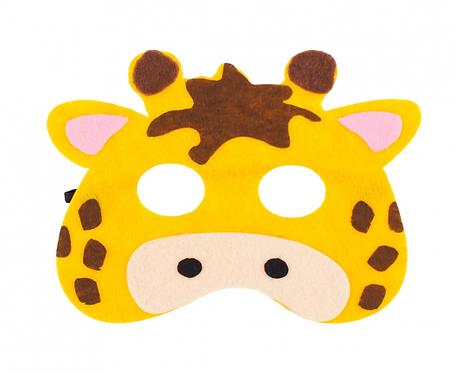 """Maska filcowa """"Żyrafa"""", rozm. 18 x 14 cm"""