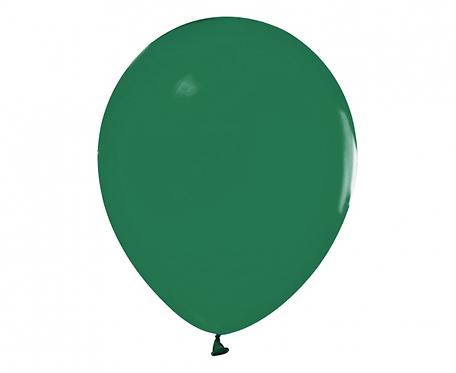"""Balony Beauty&Charm, pastelowe ciemny zielony 12""""/ 50 szt."""