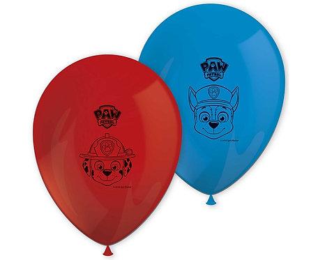Bukiet balonowy PAW PATROL, 8 szt.