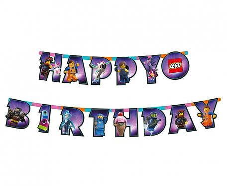 Girlanda Lego Movie 2 - Happy Birthday