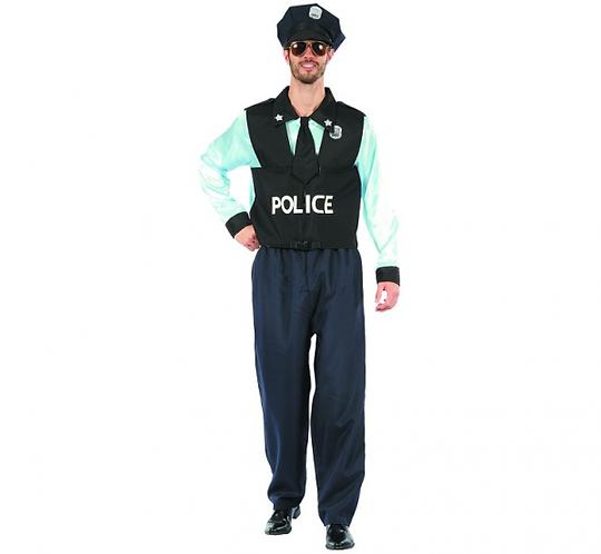 """Strój dla dorosłych """"Policjant"""", rozm. 52"""