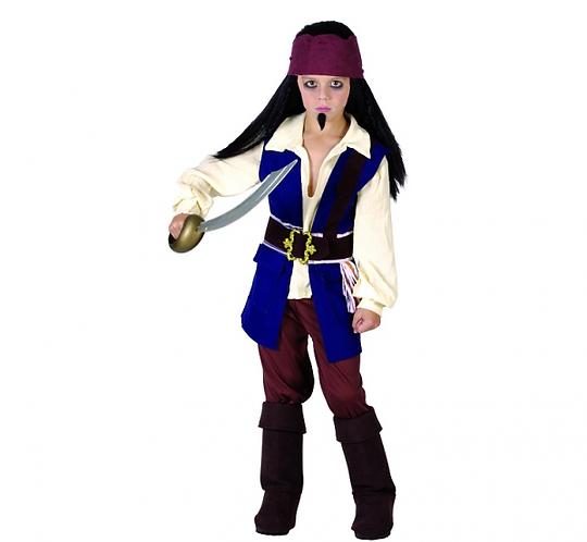Strój dla dzieci Pirat z Karaibów ,  rozm. 110/120 cm
