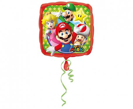 Balon foliowy Mario Bros 43 cm