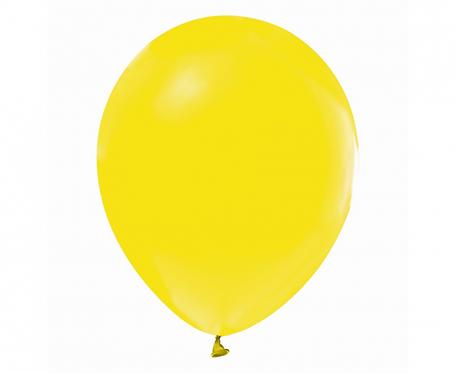 """Balony Beauty&Charm, pastelowe żółte 12""""/ 50 szt."""