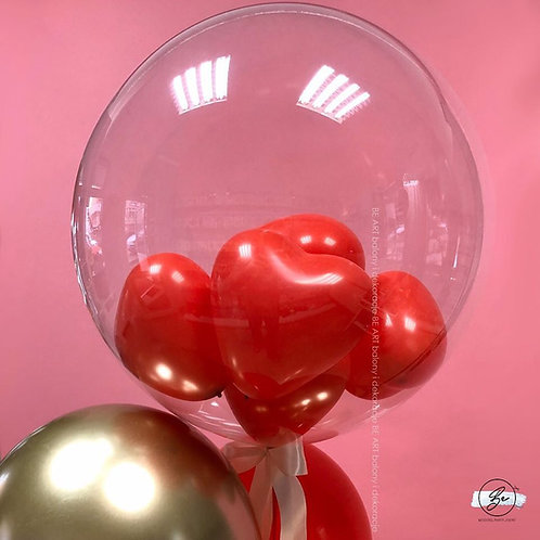 Balon Bubbles LOVE
