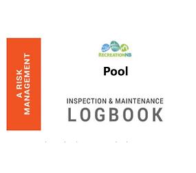 Journal d'inspection et d'entretien de la piscine