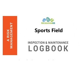 Sport Field Inspection and Maintenance Logbook